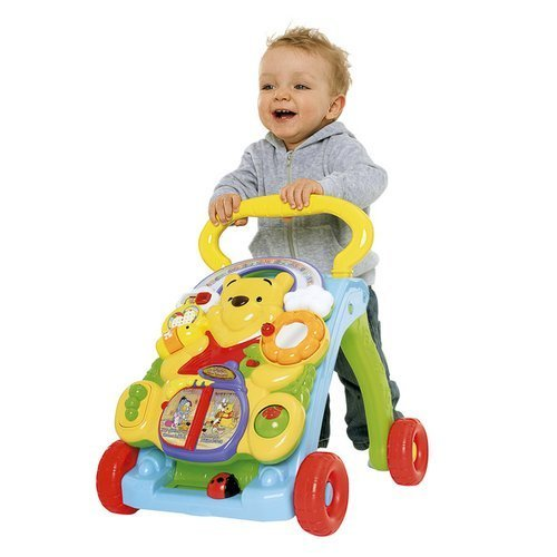 vtech baby laufwagen winnie puuh 2 in 1 gehhilfe lauflernwagen neu ebay. Black Bedroom Furniture Sets. Home Design Ideas