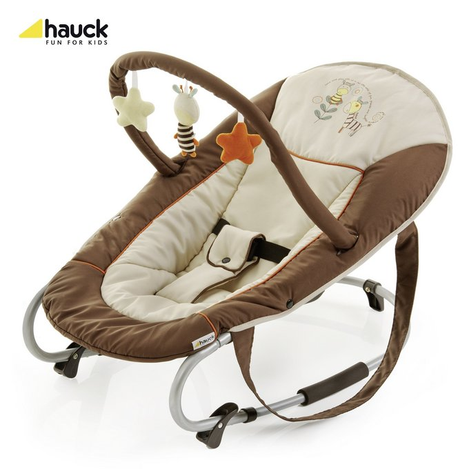 hauck wippe bungee deluxe baby wippe neu alien baby little world ebay. Black Bedroom Furniture Sets. Home Design Ideas
