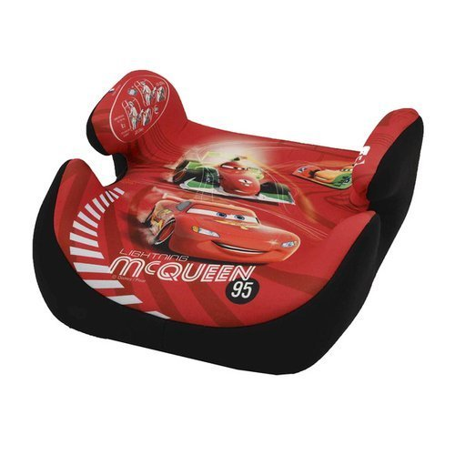 KIDS-IM-SITZ-Kindersitzerhoehung-Topo-luxe-Disneys-Cars-Design-2014-Autositz